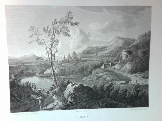 12x8 inch Print Citadel Hill From Pt Pleasant Halifax Nova Scotia Canada 1780